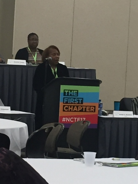 Chadwick addresses NCTE Business Meeting